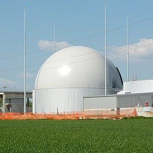 Двухмембранное газовое хранилище