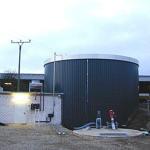 Компактный биогазовый завод
